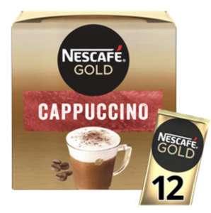 Nescafé Gold Cappuccino sachet 12 - £2 @ Asda