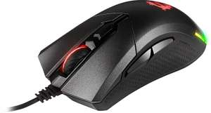 MSI Clutch GM50 RGB Optical FPS GAMING Mouse, 7200 DPI Optical Sensor, 6 Programmable button, 3-Zone RGB, Ergonomic design - £29.99 @ Amazon
