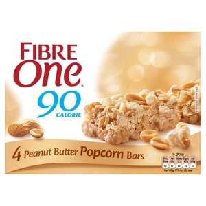 Fibre One 4x Peanut Butter Popcorn Bars for 29p instore @ Farmfoods, Allestree