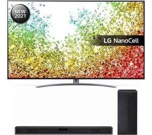 "LG 55NANO966PA 55"" Smart 8K HDR LED TV & SL4 2.1 Wireless Soundbar Bundle £300 off with code, now £1299 @ Currys PC World"