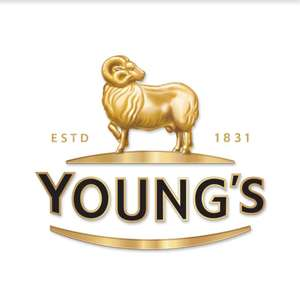 Free pint of beer at Young's pubs when you buy a £10 gift voucher