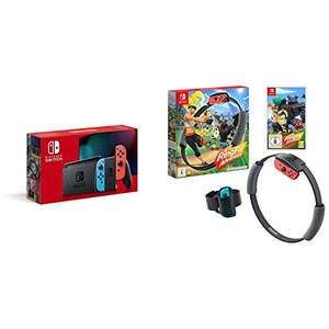 Nintendo Switch (Neon Red/Neon blue) + Ring Fit Adventure £314.99 Delivered (Prime Exclusive) @ Amazon