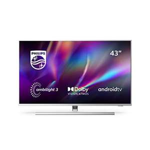 Philips Ambilight 43PUS8545/12 43-Inch LED TV (4K UHD, HDR 10+, Freeview Play - £399 @ Amazon (Prime Exclusive)