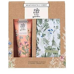 In The Garden Gardening Gloves Set and Hand Cream Gift Set £10.48 Amazon Prime Exclusive
