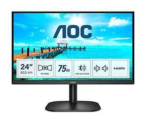 "AOC 24B2XDAM 24"" FHD Monitor, 75Hz, VA, 4ms Speakers, Flicker Free, Frameless Design (75Hz, HDMI/VGA/ DVI) £79.99 Amazon Prime Exclusive"
