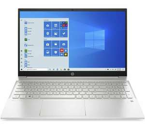 """HP Pavilion 15.6"""" FHD IPS Touch Ryzen 5 4500U 8GB 256 SSD silver laptop, £489.99 (Membership Required) @ Costco"""