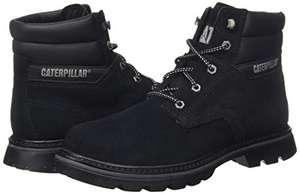 Caterpillar Men's Quadrate Classic Boots (Black) - £35.63 Amazon Prime Exclusive