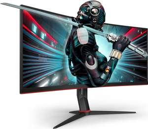 "AOC CU34G2/BK 34"" UWQHD (3440x1440) FreeSync 100Hz 1ms VA Curved Gaming Monitor - £295.99 delivered @ Box"