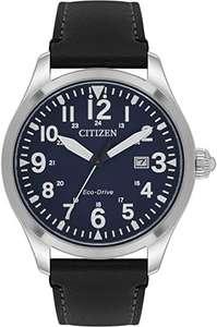 Citizen Men's Eco-Drive Analogue Watch with Leather Strap BM6831-41L - £56.00 @ Amazon Prime Exclusive