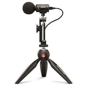 Shure MV88+ (New) Video Kit with Digital Stereo Condenser Microphone £131.99 (Prime Exclusive) @ Amazon