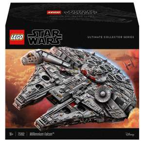 LEGO Star Wars Millennium Falcon Collector Series Set (75192) £549.99 delivered with code @ Zavvi