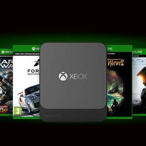Seagate 500GB Game Drive for Xbox SSD USB3.0 SSD + ASUS TUF H3 Gaming Headset and 2 months Gamepass £89.49 @ CCLOnline