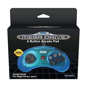Retro-Bit Official SEGA Mega Drive Controller Clear Blue £9.07 / Black £9.35 [Used - Like New] Prime Exclusive @ Amazon Warehouse