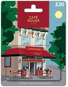 Café Rouge Gift Card - UK - £16 Prime / +99p non Prime @ Amazon