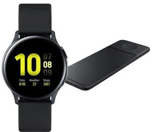 Samsung Galaxy Watch Active2, GPS - 40mm - Black + Free Trio Charger With Code £169 (£119 With Samsung Cashback) AO (UK Mainland)