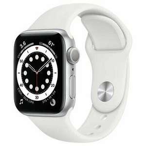 Apple Watch S6 40mm GPS Smart Watch - Silver Alu Case/White Sport Band Refurbished @ Argos / eBay