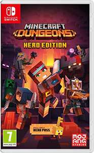 Minecraft Dungeons Hero Edition (Nintendo Switch) - £12.88 (+£2.99 Non Prime) delivered @ Amazon