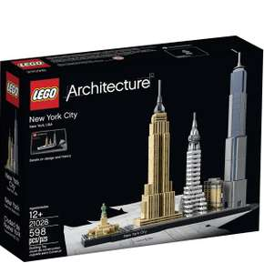 LEGO Architecture 21028 New York City Building Kit - £33.75 + free Click and Collect at Argos