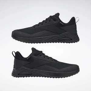 Men's Walking Trail Cruiser GORE-TEX Shoes Black / Black / Noble Grey Met £36 with code at Reebok Store