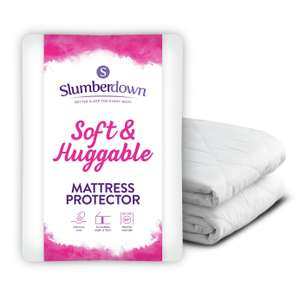 Slumberdown Soft and Huggable Mattress Protector Double £9 - free click and collect at Argos
