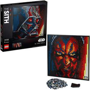 LEGO Art 31200 Star Wars: The Sith - art picture set, posters for collectors, wall decorations (UK Mainland) £75.97 at Amazon Germany