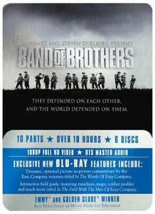 Band of Brothers Complete Series (Commemorative 6-Disc Gift Set in Tin Box) Blu-ray - £9.87 @ musicmagpie / ebay