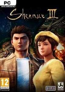 [Steam] Shenmue 3 (PC) - £2.09 @ CDKeys
