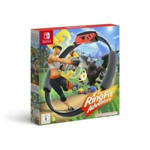 Ring Fit Adventure (Nintendo Switch) £43.88 Delivered using code (Nectar) 46.52 (non-Nectar) @ Boss Deals via eBay