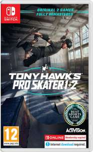 Tony Hawk's Pro Skater 1 & 2 (Nintendo Switch) - £31.08 with code (Nectar) / £33.02 (non Nectar) - Boss Deals eBay