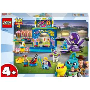 LEGO Toy Story 4: Buzz & Woody's Carnival Mania! (10770) - £22.99 (+£2.99 Delivery) @ iwantoneofthose.com