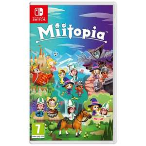 Miitopia Nintendo Switch Game £29.48 nectar / £31.32 non nectar at ShopTo ebay