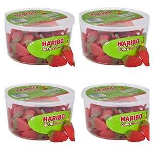 Haribo Giant Strawbs Strawberry Bulk Sweets, 4kg (4 x 1kg tubs) £12.83 @ Amazon (£4.49 p&p non prime) £11.78/£13.19 s&s