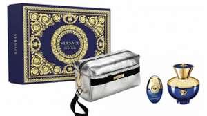 VERSACE Dylan Blue Pour Femme Eau De Parfum Set 100ml, 10ml miniature £41.90 delivered at Justmylook