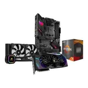 AMD Ryzen 7 5800X, B550-E ROG STRIX, RTX 3090 XTREME & H100i PRO XT Bundle £2,554.99 + £11.50 delivery at Scan