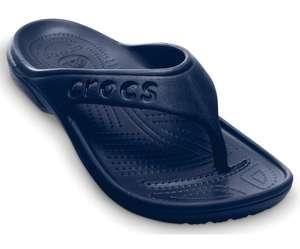Crocs unisex Baya Flips Black/Navy (all sizes), £8.80 delivered (more in OP) at Crocs Shop