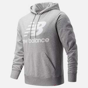 New Balance Stacked Logo Hoodie £20 with code (£4.50 delivery) @New Balance