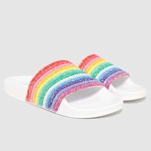 Lelli Kelly Iris Girls Rainbow Sliders £14.99 click & collect @ Schuh