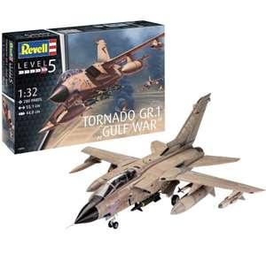 "Revell GmbH 03892 Tornado GR Mk.1 RAF ""Gulf War"" Plastic Model Kit, Desert Camouflage, 1:32 £38.95 @ Amazon"