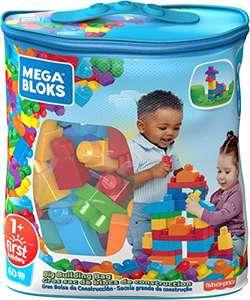 Mega Bloks DCH55 Big Building Bag, Blue, 60 Pieces - £6.90 (+ £4.49 non Prime) @ Amazon