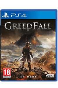 Greedfall PS4 (Free PS5 upgrade available) £12.99 C+C @ Argos