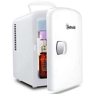 Mini Fridge 4 Litre/6 Can Portable AC/DC Powered £31.99 Sold by AstroAI Corporation EU and Fulfilled by Amazon.