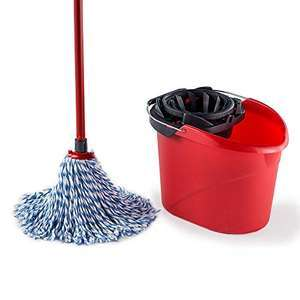 SuperMocio Microfibre Cotton Mop with Torsion Wringer Bucket £12 (free click & collect) @ Argos
