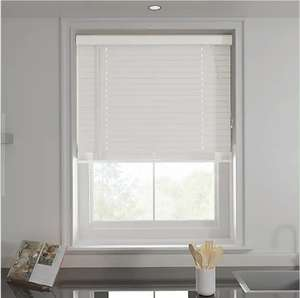 White 50mm Slats Venetian Blind (from £20, Including 20% discount), Various sizes available @ Dunelm (C&C or Delivery available)
