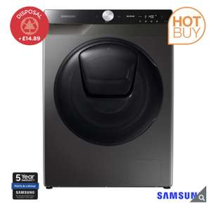 Samsung Series 8 QuickDrive™ WW90T854DBX/S1, 9kg, 1400rpm, Washing Machine, A Rated in Graphite - £579.99 (Membership Required) @ Costco