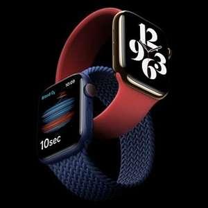 Various Apple Watch Series 6 - 40mm / 44mm - Aluminium - £285 delivered (UK Mainland) Customer returns / open box @ ElekDirect