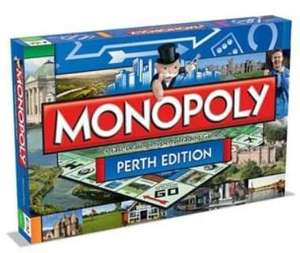 Perth Monopoly Board Game £10.64 / Ayr Monopoly Board Game £11.34 / Monopoly Game: L.O.L. Surprise Edition £9.17(+£4.49 non prime) @ Amazon