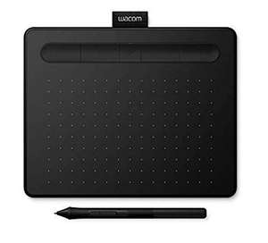 Wacom Intuos S Bluetooth Graphics Tablet - Black £49.97 @ Amazon