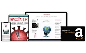 The Spectator free for 3 months, plus get a £20 Amazon gift card for Telegraph subscribers