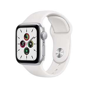 Apple Watch SE GPS, 40mm Silver Aluminium Case with White Sport Band - Regular £224.17 @ Amazon