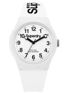 Mens Superdry white silicone strap watch £12.49 @ Argos free c&c